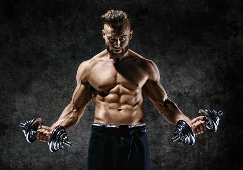 ダンベル筋肉