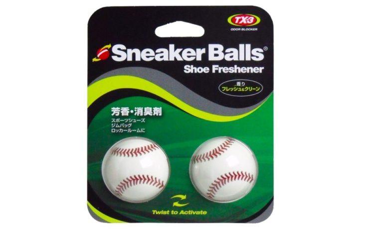 スニーカーボール ベースボール 芳香・消臭剤 フレッシュ&クリーン