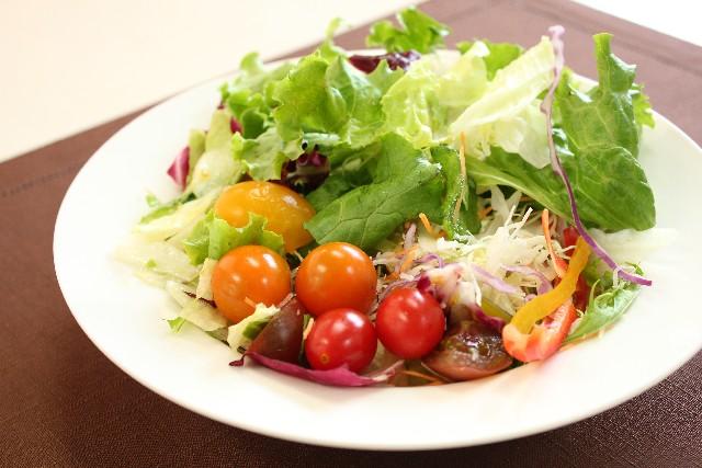野菜中心の食事でワキガ対策