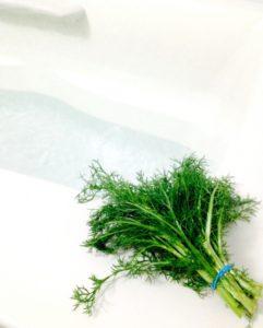 生ハーブの入浴剤にはリラックス効果も