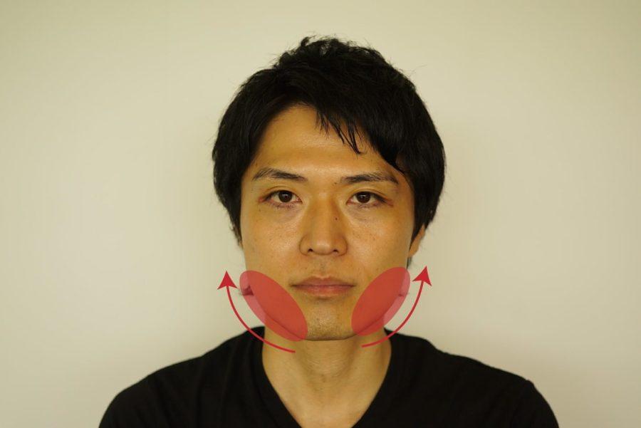 頬のたるみのイメージ