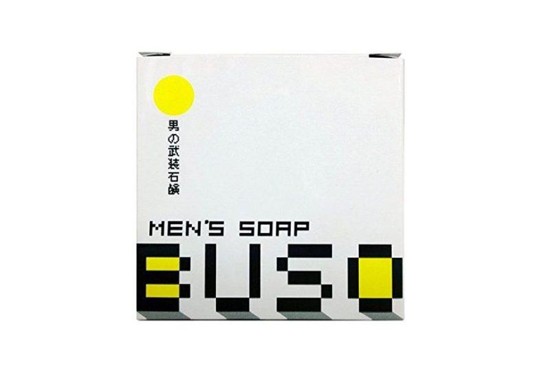 男性美容石鹸 BUSO 武装 メンズソープ 1個