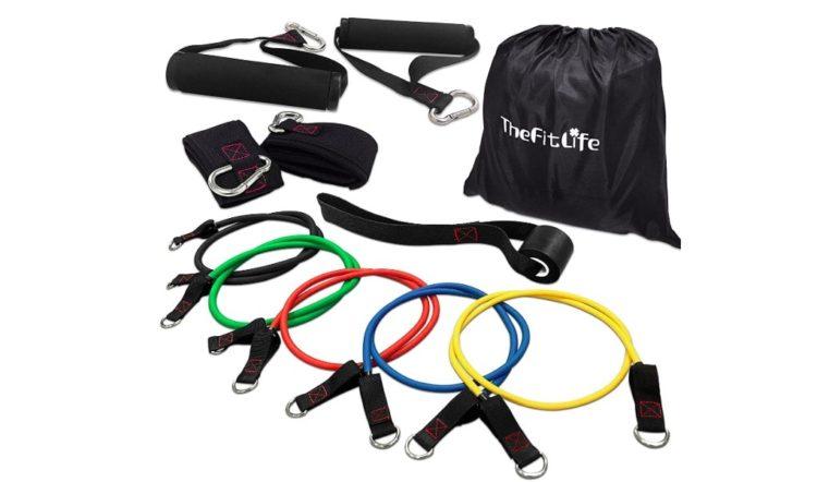 TheFitLife フィットネスチューブ トレーニングチューブ
