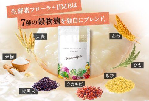 生酵素フローラ+HMB