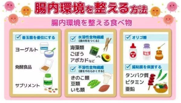 腸内環境 整える食べ物