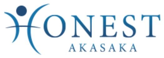 honest赤坂ロゴアイコン