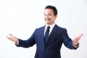 ストレスフリーな男性のイメージ画像