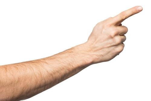 男 手 指毛