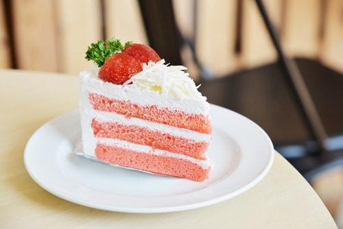 イチゴケーキ 甘い