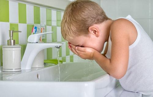 子供 洗顔