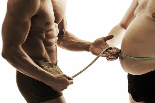 ぽっこりお腹肥満男性ダイエットトレーニング
