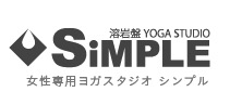 yoga&studio-simpleロゴ